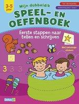 Mijn dubbeldik speel- en oefenboek Eerste stappen naar tellen en schrijven 3-5 jaar