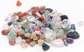Trommelstenen Kwarts Mix (5 to 10 mm) – 100 gram