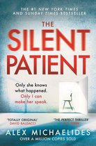 Boek cover The Silent Patient van Alex Michaelides (Onbekend)