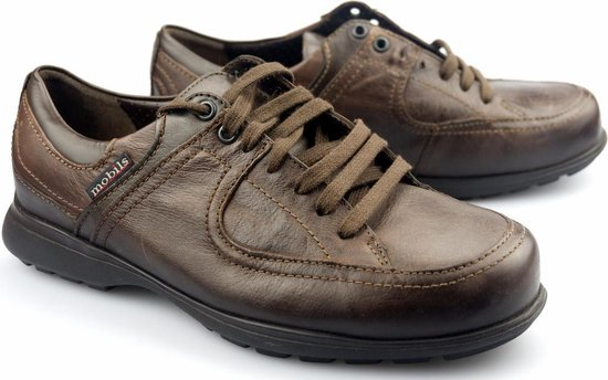 Mobils by Mephisto DAMIAN heren veterschoen - EXTRA BREED - bruin 43