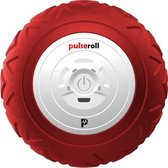 Pulseroll Vibrerende Massagebal met 4 Tril Niveaus - Rode Triggerpoint Bal incl. Afstandsbediening