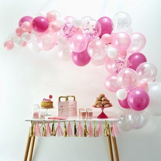 Ballonnenboog Kit - Roze