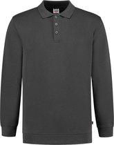 Tricorp Polo Sweater Boord 60°C Wasbaar 301016 Donker Grijs - Maat 4XL