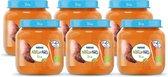 NaturNes® Bio Zoete Aardappel, Wortel 4+ mnd babyvoeding biologisch - 6 potjes