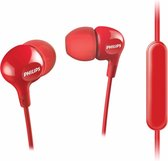 Philips SHE3555RD Headset In-ear Rood