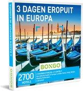Bongo Bon Nederland - 3 Dagen Eropuit in Europa Cadeaubon - Cadeaukaart cadeau voor man of vrouw | 2700 hotels in Europese steden