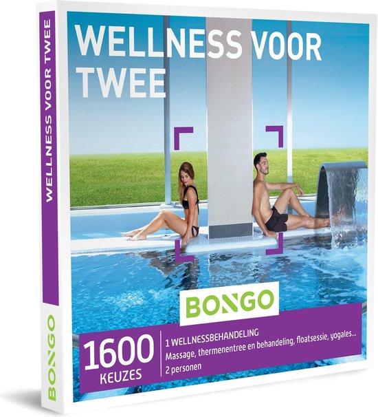 Bongo Bon Nederland - Wellness voor Twee Cadeaubon - Cadeaukaart cadeau voor koppels   1600 wellnessbehandelingen: massage, thermenbezoek, floatsessie, yogales en meer