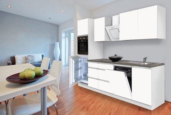 Bol Com Complete Keuken Meister Premium 280cm Wit Hoogglans Mat Wit