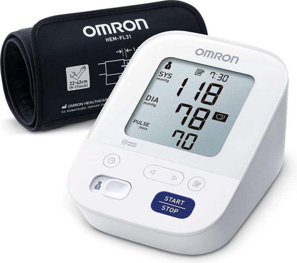 OMRON X3 Comfort - Bovenarm Bloeddrukmeter