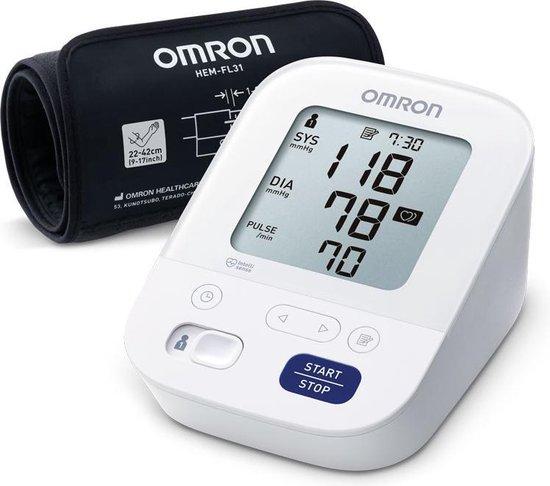 OMRON X3 Comfort - Bovenarm Bloeddrukmeter Nieuwe versie van M3 Comfort