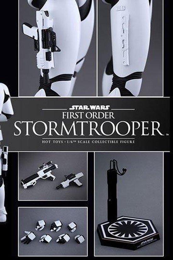 Thumbnail van een extra afbeelding van het spel Star Wars Episode VII Movie Masterpiece Action Figure 1/6 First Order Stormtrooper 30 cm