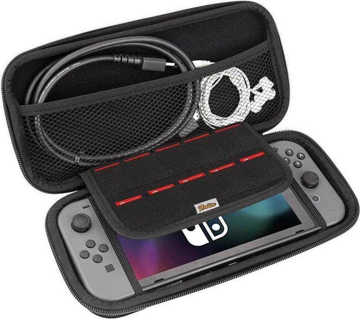 Aretica hardcover case - Nintendo Switch - Zwart