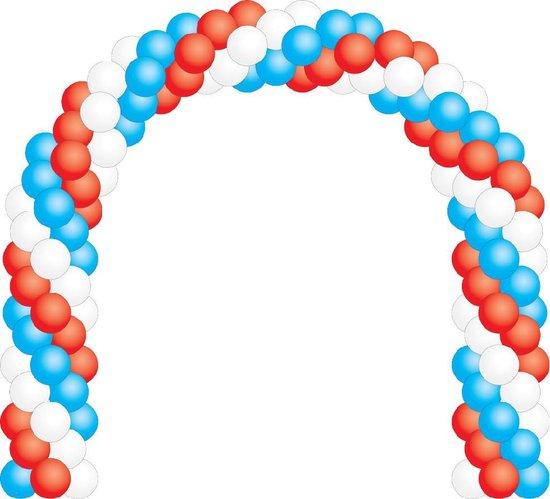 Ballonboog zelf maken - Ballonnen feest decoratie boog- winkel- bruiloft ballon versiering - Ballonboog party