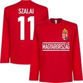 Hongarije Szalai 11 Longsleeve T-Shirt - L
