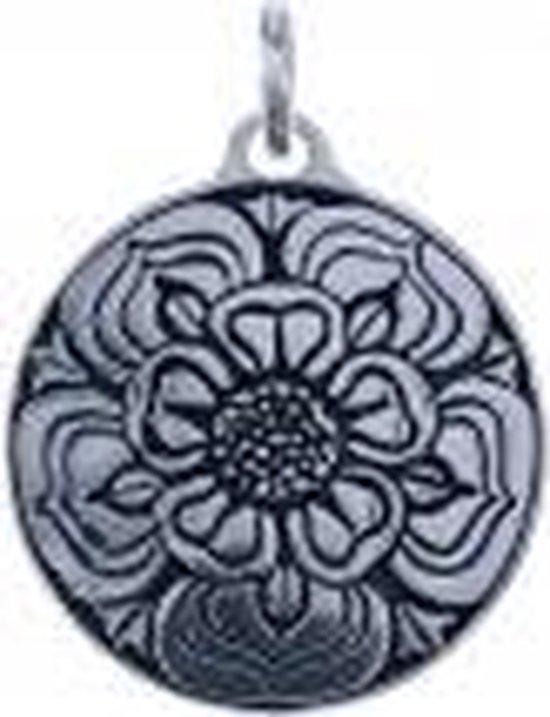 """Zilveren hanger Lotus """"reinheid"""""""