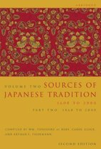 Sources of Japanese Tradition, Abridged: 1600 to 2000; Part 2