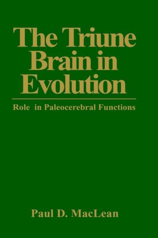 The Triune Brain in Evolution