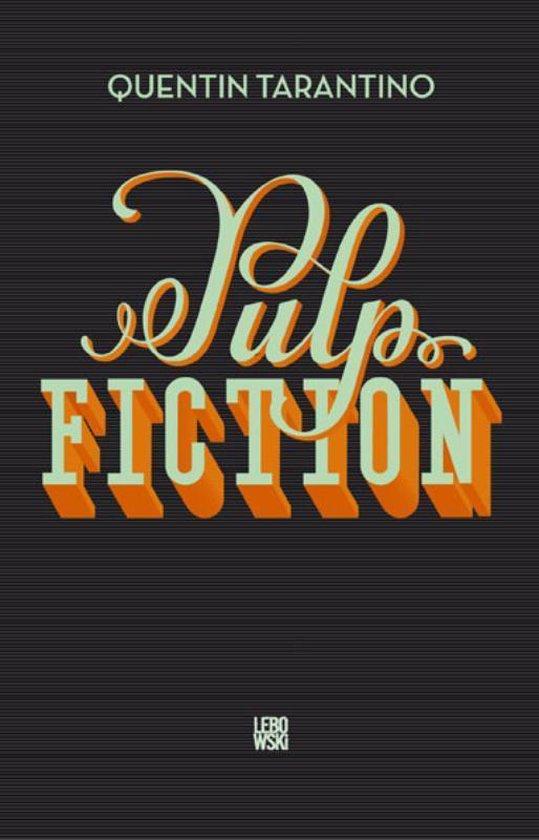 Boek cover Pulp fiction van Quentin Tarantino (Paperback)