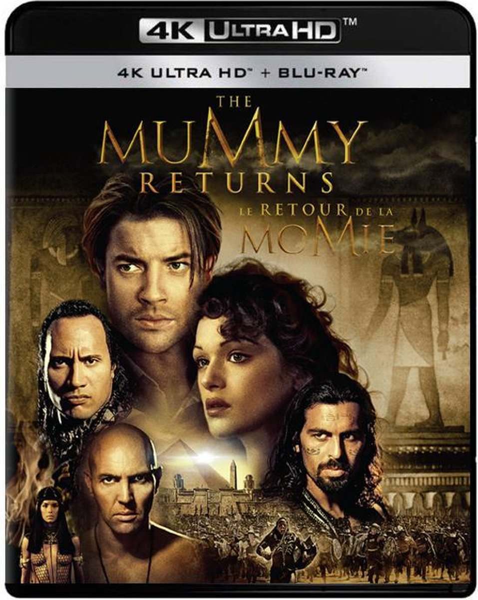 The Mummy Returns (4K Ultra HD Blu-ray)-