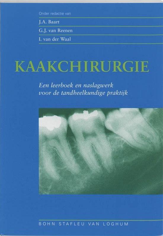 Kaakchirurgie - G J Van Reenen pdf epub