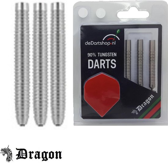 Dragon Darts Shark Grip Professional 90% Tungsten - 22 gram dartpijlen