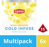 Lipton Lemon & Camomile Cold Infuse - 6 x 16 zakjes