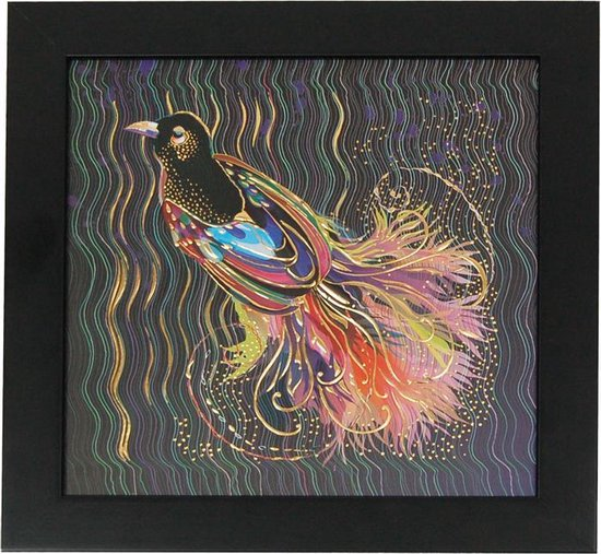 Schilderij Vogel