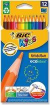BIC Kids Evolution - 12 kleurpotloden