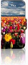 Apple iPhone 5 | 5S Bookstyle Hoesje Tulpen