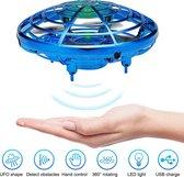 Mini Drone met Anti-bots Sensor - Zwevende UFO Blauw