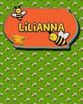 Handwriting Practice 120 Page Honey Bee Book Lilianna