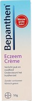 Bepanthen Eczeem Crème bij verlicht jeuk en roodheid bij mild tot matig eczeem, 50 gr