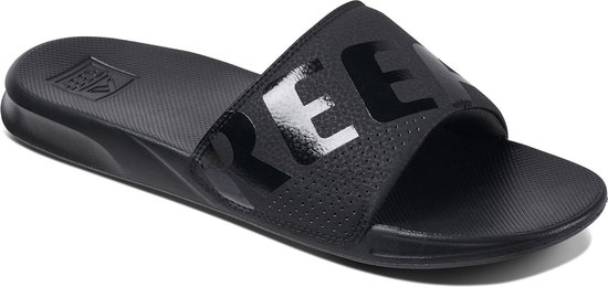 bol.com | Reef One Slide Slippers - Maat 45 - Mannen - zwart