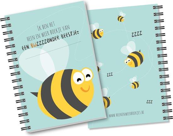 Heen en weer boekje - baby - peuter - ringband - oppasboekje - kinderopvang - creche -gastouder - invulboek - Heenenweerboekjes.be