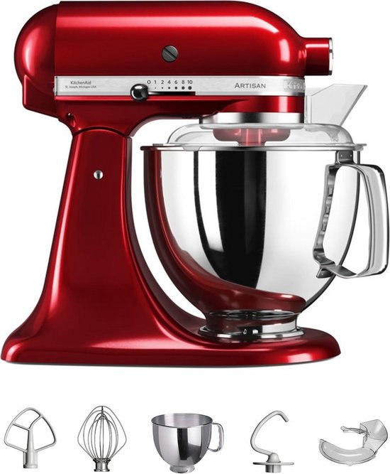 KitchenAid Artisan 5KSM150PSER - Keukenmachine - Keizerrood