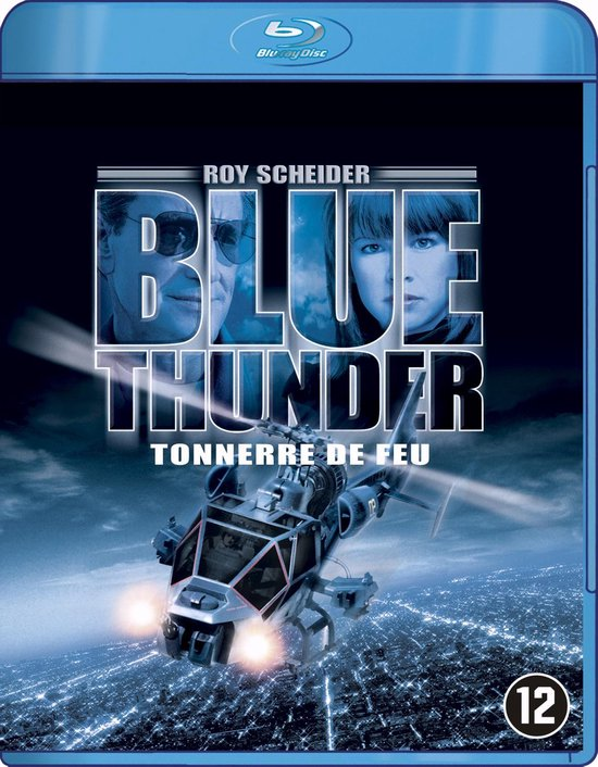Cover van de film 'Blue Thunder'
