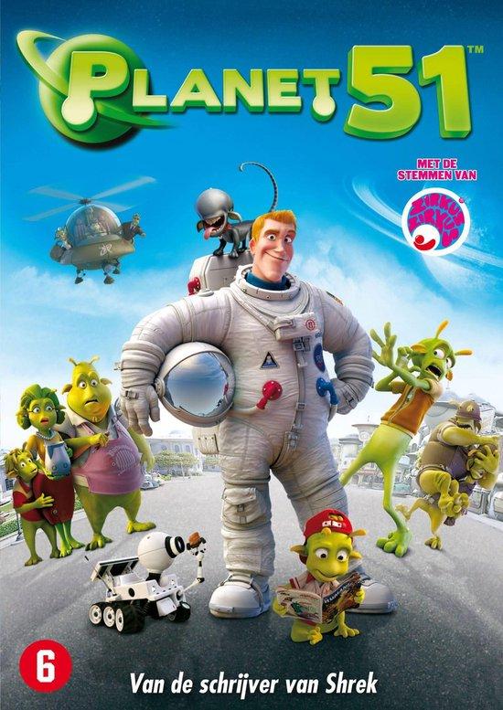Cover van de film 'Planet 51'