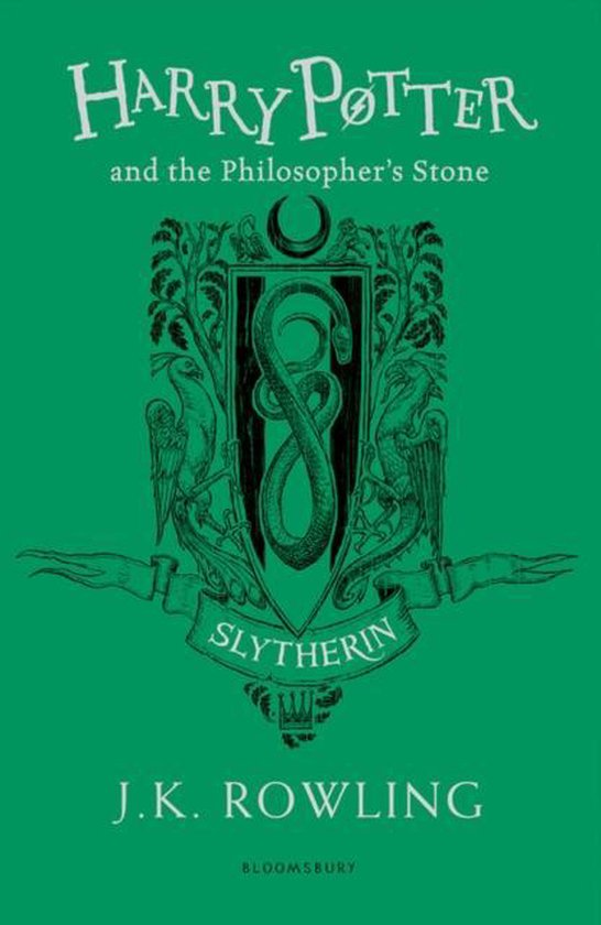 Boek cover Harry Potter and the Philosophers Stone - Slytherin Edition van J.K. Rowling (Paperback)
