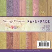 Papierpak - Jeanine Art - Vintage Bloemen