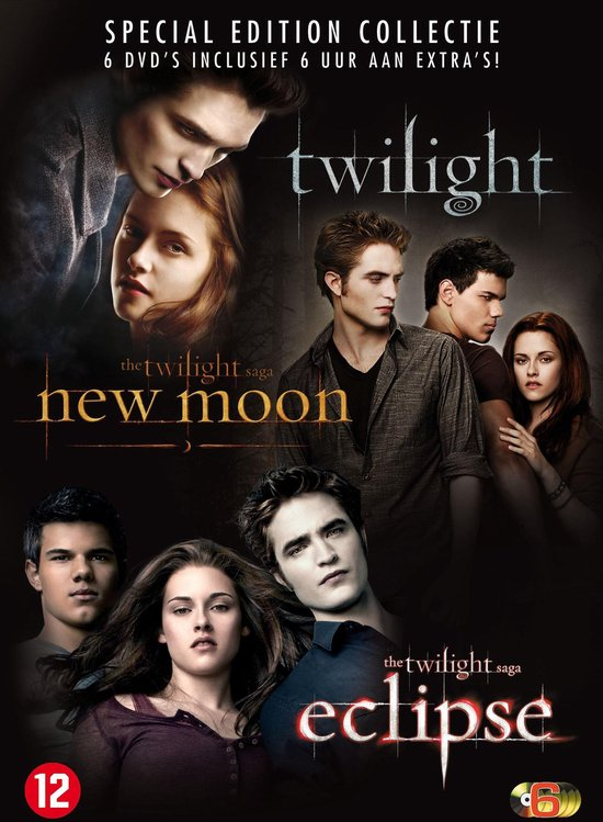 Twilight Saga 1-3 (Special Edition)