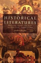 Boek cover Historical Literatures van Noelle Gallagher (Hardcover)