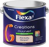 Flexa Creations - Muurverf Extra Mat - Pink Nudity- 2,5 Liter