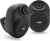 Caliber HSB402BT/B - Outdoor speakerset met bluetooth en aux in - Zwart