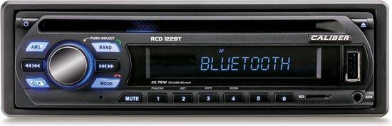Caliber RCD122BT - Autoradio met FM radio en bluetooth - 1 din - Zwart