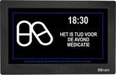 BBrain Basic - Digitale Dementieklok 10 inch Zwart