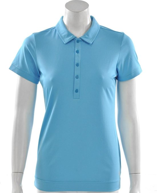 Hi Tec - Sportpolo -  Dames - Maat XL - Licht Blauw