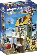 PLAYMOBIL Geheime piratenvesting met Ruby Red - 4796