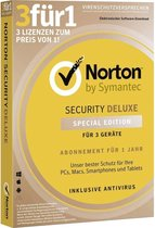 Symantec Norton Security Deluxe 2019 3.0 voor | 3