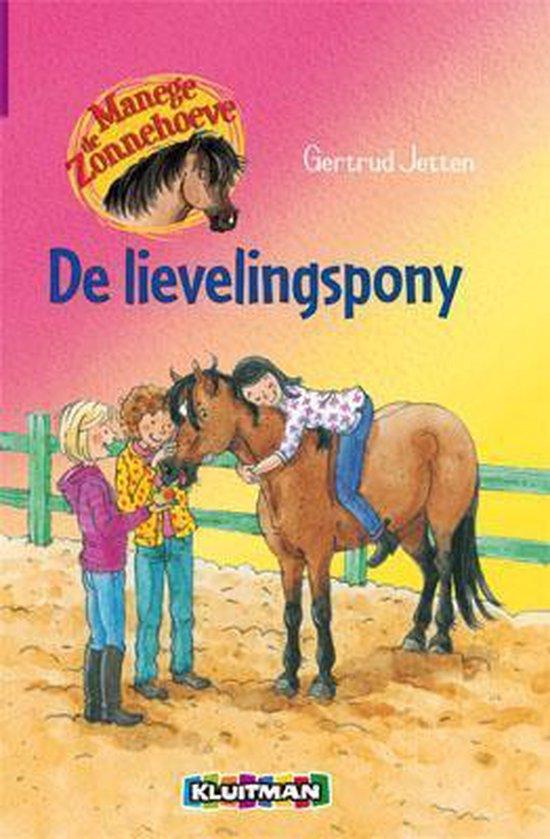 Manege de Zonnehoeve 6 - De lievelingspony - Gertrud Jetten |