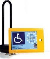 Kaartkluis voor invalide parkeerkaart